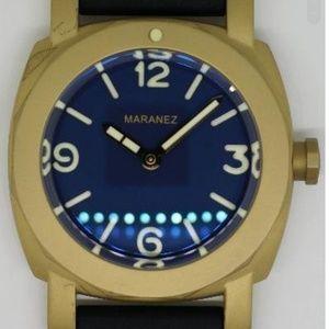 New Maranez Karon Brass Blue Face